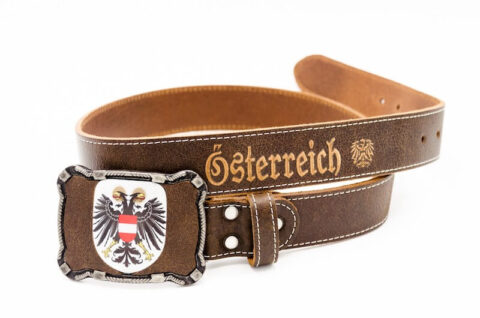 Österreich Doppeladler Gürtel
