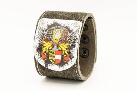 "Kärnten Armband ""Herzale"" Rustico Schwarz"