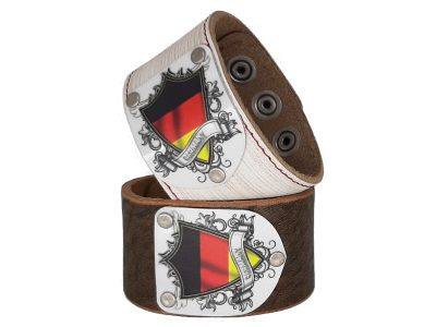 Armband Deutschland Vintage mit Deutschland Wappen