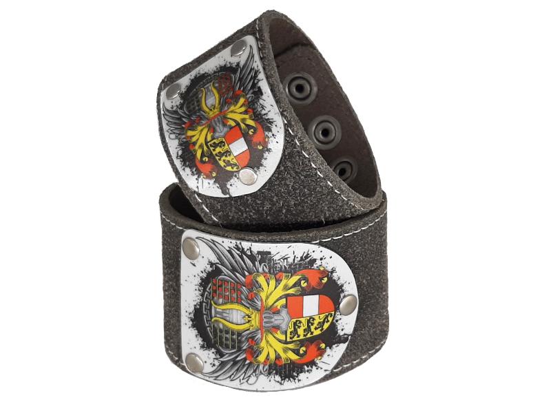 Armband Kärnten Flügale Rustico Silbergrau