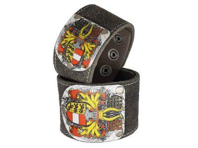 Armband Kärnten Herzale Rustico Silbergrau