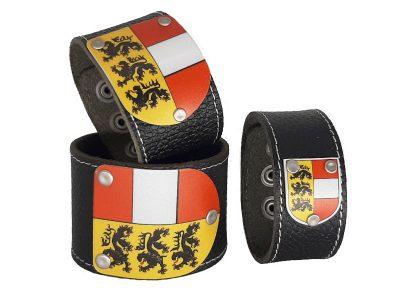 Armband Kärnten Leder schwarz