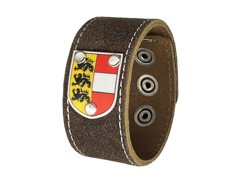 Armband Kärnten traditionell rustico braun