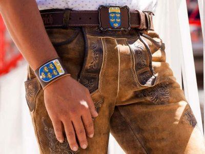 Armband Niederösterreich rustico trachtenbraun