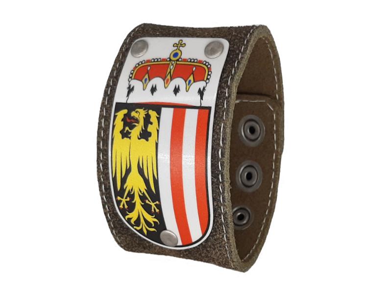 Armband mit Oberösterreich Wappen 4cm