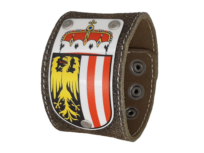 Armband Oberösterreich Partner Set mit Wappen