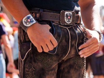 Armband Österreich Adler Rustico trachtenbraun