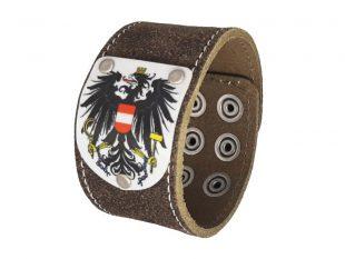 Armband Österreich Rustico trachtenbraun