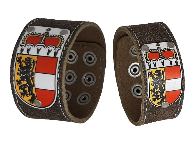 Armband Partner Set mit Salzburg Wappen