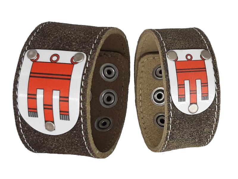 Armband Partnerset mit Vorarlberg Wappen
