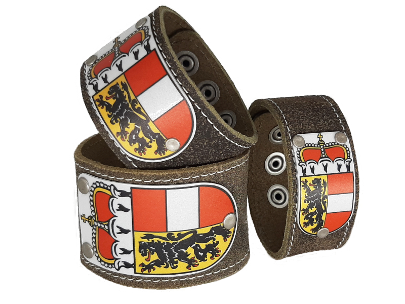 Salzburg Armband Rustico Trachtenbraun