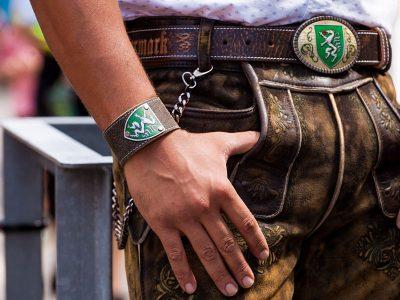 Armband Steiermark Rustico trachtenbraun