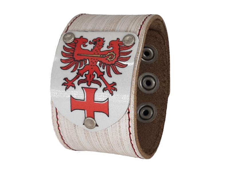 Armband mit Südtirol Wappen Vintage weiss
