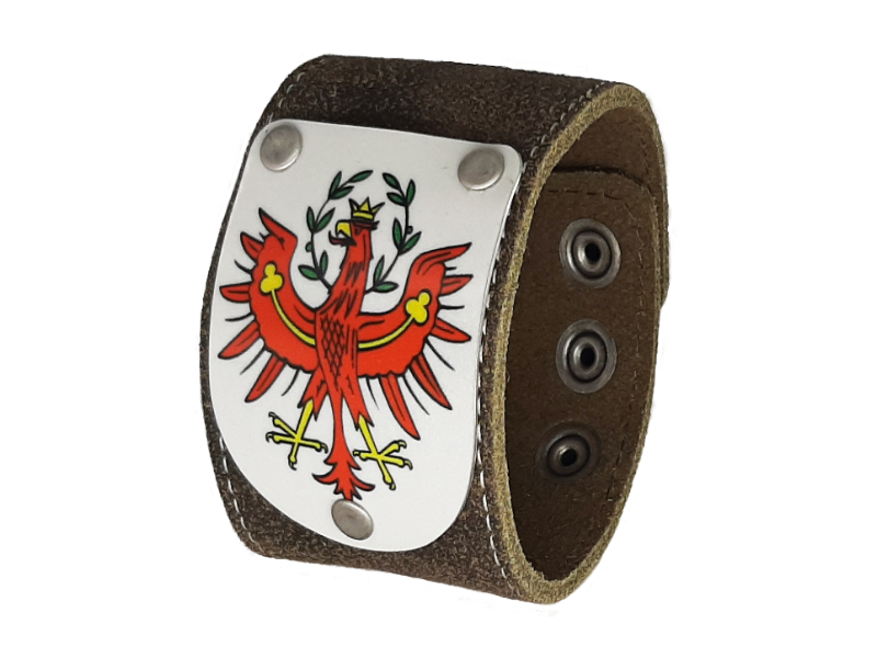 Armband Tirol rustico trachtenbraun 4cm
