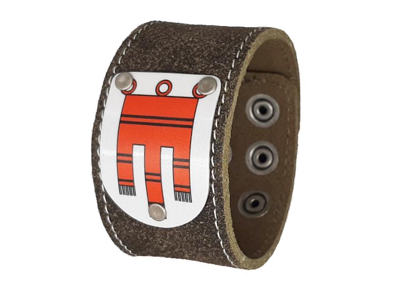 Armband Partnerset Armband Rustico Trachtenbraun 4cm