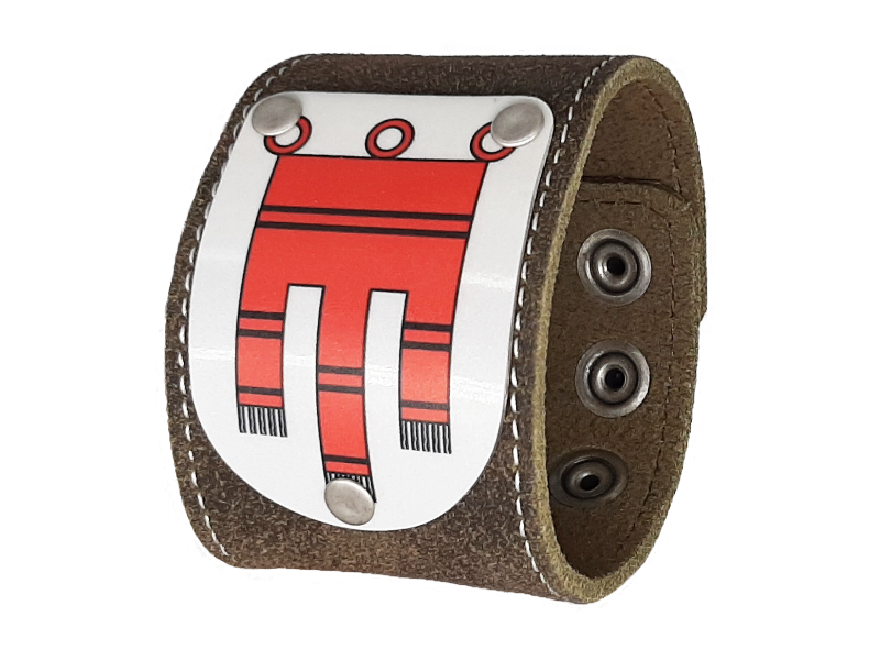 Herren Partnerset Armband mit Vorarlberg Wappen