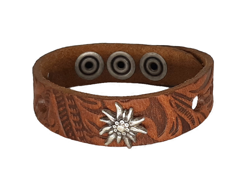 Damen Armband mit Edelweiss
