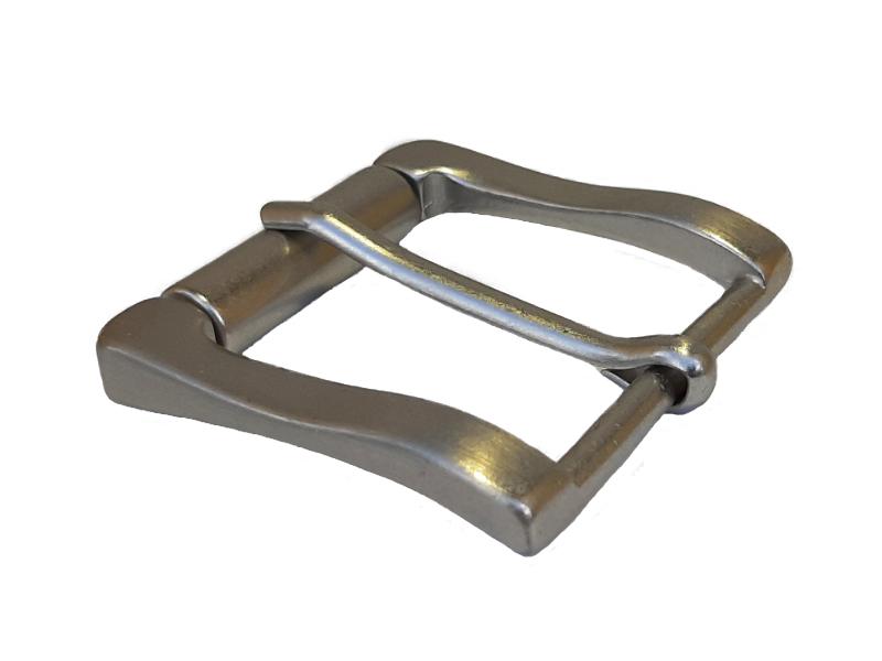 Dornschnalle mit Rolle 4 cm für Gürtel