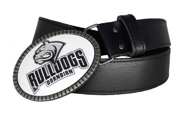 Ledergürtel Eishockey Club Bulldogs Dornbirn