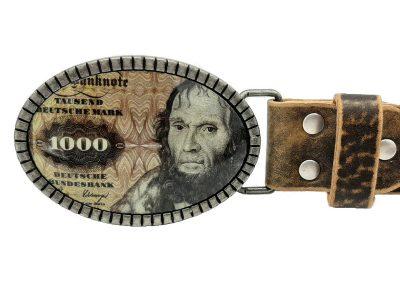 1000 Mark Gürtelschnalle