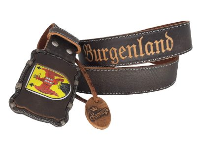 Ledergürtel Burgenland Deluxe