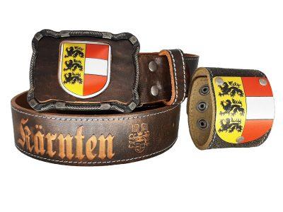 Kärnten Gürtel Deluxe mit Kärnten Armband