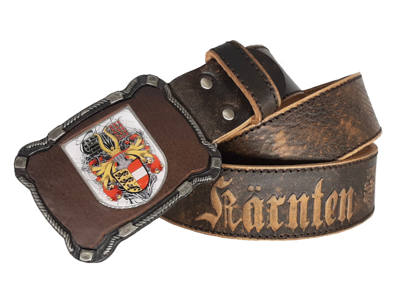 Ledergürtel Kärnten Deluxe reloaded