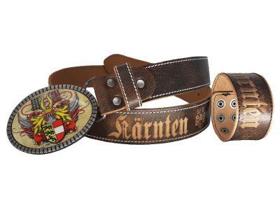 Gürtel Kärnten Premium braun