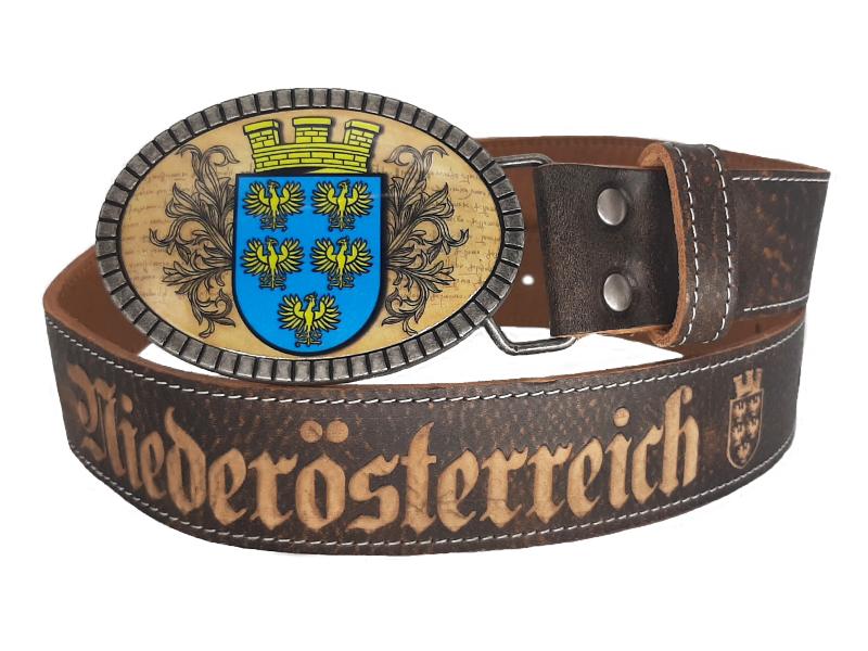 Niederösterreich Ledergürtel Premium