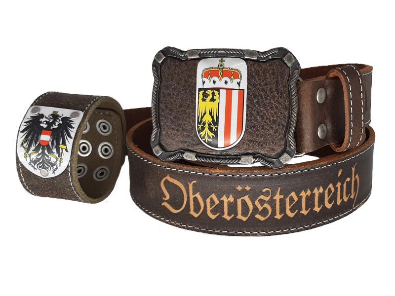 Ledergürtel Oberösterreich Deluxe