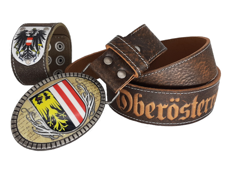 Ledergürtel Oberösterreich Premium