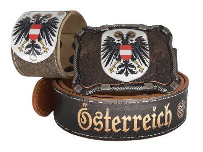 Gürtel Österreich mit Doppeladler