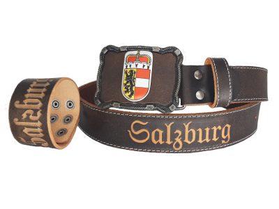 Salzburg Gürtel Deluxe mit Armband