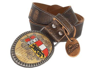 Ledergürtel Salzburg premium