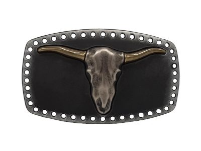 Gürtelschnalle Buckle Boss Bull Longhorn