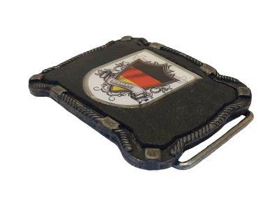 Gürtelschnalle Deutschland Wappen