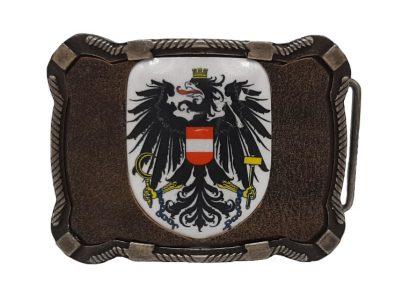 Gürtelschnalle Österreich Deluxe