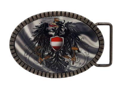 Gürtelschnalle Österreich silber