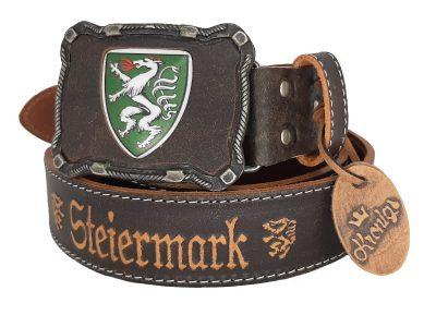 Ledergürtel Steiermark Deluxe