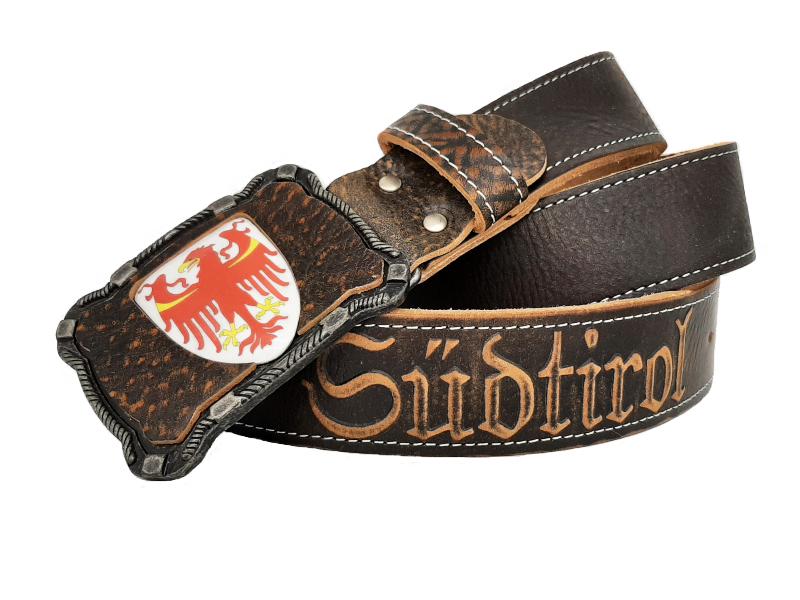 Gürtel Südtirol Deluxe mit Wappen