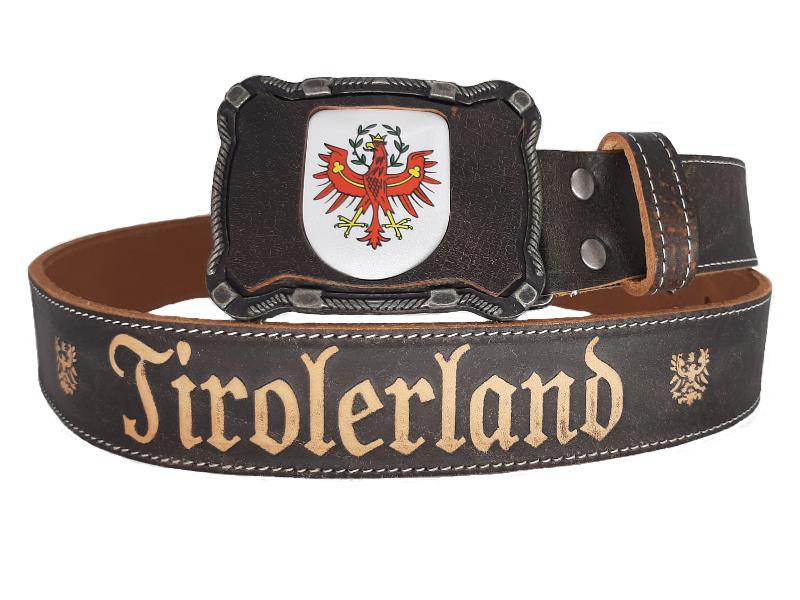 Ledergürtel Tirol Deluxe