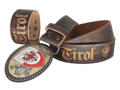 Gürtel Tirol Premium braun