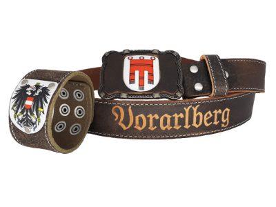 Ledergürtel Vorarlberg Deluxe