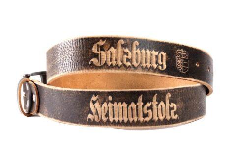 Heimatstolz-Salzburg Gürtel mit Dornschnalle