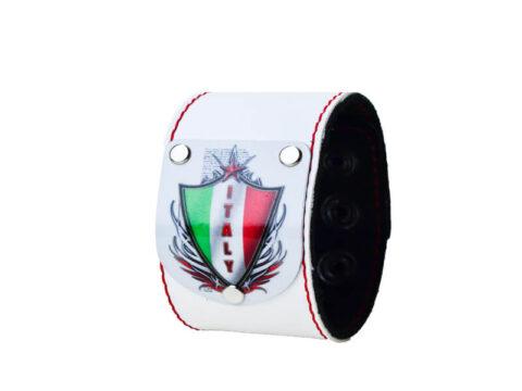 Armband Italien mit Wappen in weiß