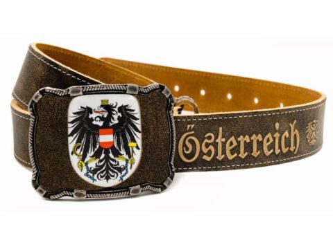 Österreich Gürtel mit Wappen