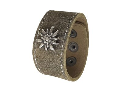 Armband mit Edelweiss