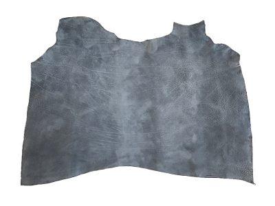 Rindsleder belly grau blau