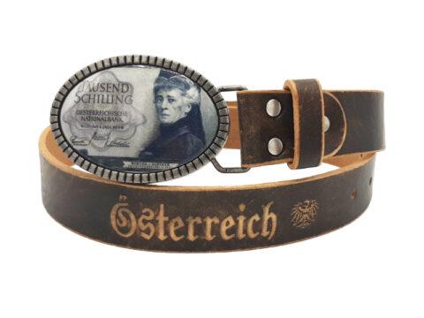 Ledergürtel 1000 Schilling rustico