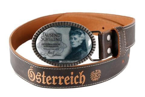 Trachten Gürtel 1000 Schilling Bertha von Suttner